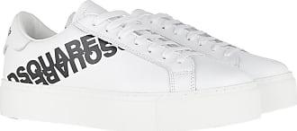 Dsquared2 Sneakers - Flatform Sneakers Metallic White/Black - white - Sneakers for ladies
