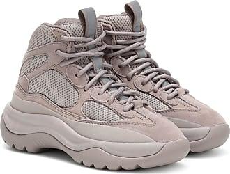 Yeezy by Kanye West Suede-paneled sneakers (SEASON 7)