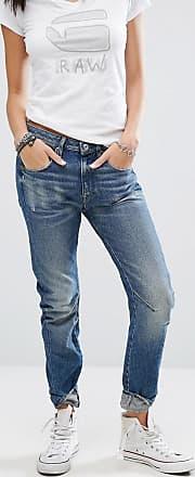 G-Star Arc 3D - Boyfriend-Jeans mit tiefer Taille-Blau