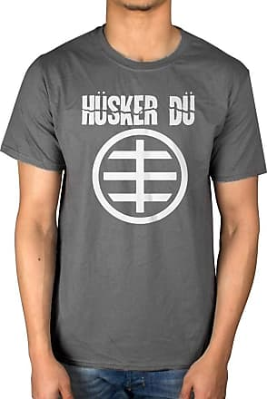 AWDIP Official Husker Du Circle Logo T-Shirt Charcoal