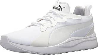 41a59a09325 Puma Mens Pacer Next Sneaker,puma white-puma white,6.5 M US