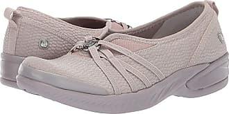 8343279a4e83 Bzees Niche (Silver Cloud Mesh Fabric) Womens Slip on Shoes