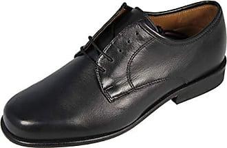 6323b7bc1cb1 Manz Bristol III Business- Halbschuhe Herren, Leder, 166094-05, schwarz