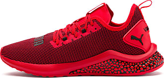 Puma Hybrid Nx Mens Running Shoes, High Risk Red/Black, size 10.5, Shoes