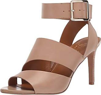 Franco Sarto Womens Paisley Heeled Sandal Light Mocha 7 M US