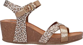Igi & Co 5199766 RameLeather Wedge Sandal Gold Size: 7 UK