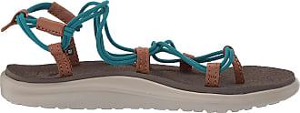 Teva Womens Voya Infinity Ws Flip Flops, Turquoise (Deep Lake 305), 9 UK