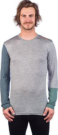 Ortovox Merino 185 RocknWool Tech Tee LS grey blend