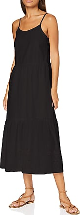 Vero Moda Womens Vmhalo Singlet Calf Dress WVN Ga, Black, S