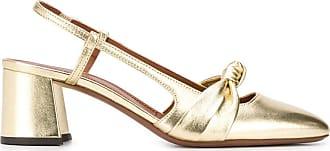 L'autre Chose Sapato metálico com fechamento no tornozelo - Dourado
