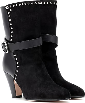 Red Valentino RED (V) embellished suede ankle boots