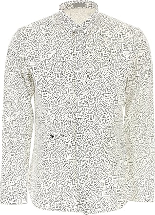 Dior Chemise Homme, Blanc, Coton, 2017, 39 40 41 42 94618a2575b