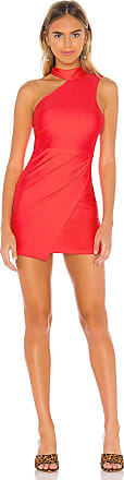 Superdown Celine Mini Dress in Red