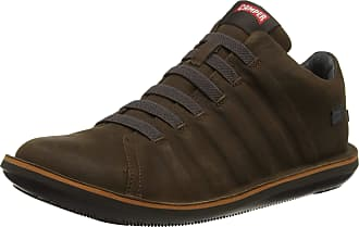 Camper Mens Beetle Low-Top Sneakers Hi Trainers, Brown (Medium Brown 210), 5.5 UK