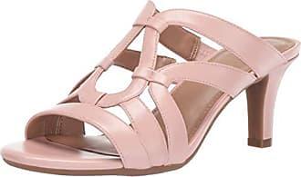 Aerosoles A2 Womens Passageway Heeled Sandal Light Pink 10.5 M US