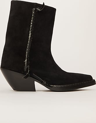 Acne Studios FN-WN-SHOE000281 Black Suede ankle boots