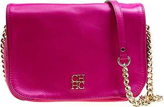 Carolina Herrera Hot Pink Leather New Baltazar Flap Shoulder Bag 2c3d1d47fada9