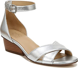 Naturalizer womens Caine Wedge Sandal Grey Size: 7.5 Narrow