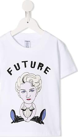 Ground-Zero Camiseta com estampa gráfica - Branco