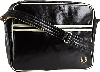 Fred Perry Mens Classic Shoulder Bag, Black, One Size