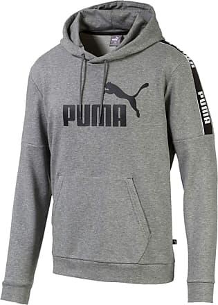 white puma hoodie mens