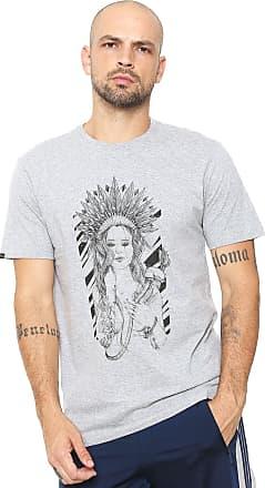 Rusty Camiseta Rusty Indian Cinza