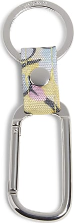 Vera Bradley womens Recycled Lighten Up Reactive Carabiner Keychain Keyring Size: One size