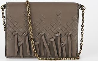 Bottega Veneta leather braided mini shoulder bag size Unica