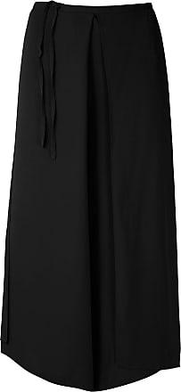 Uma Pantaloni modello gonna Marfim - Di colore nero