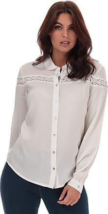 Jacqueline de Yong Womens Womens Rosalina Shirt in White - 14