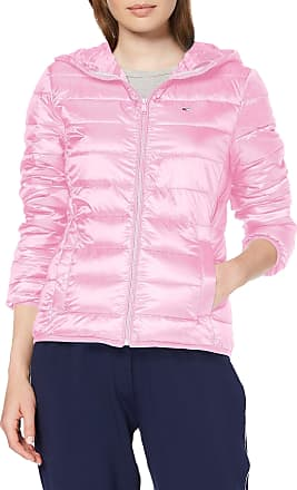Tommy Jeans Womens Tjw Quilted Zip Thru Jacket, Purple (Lilac Chiffon 579), Small