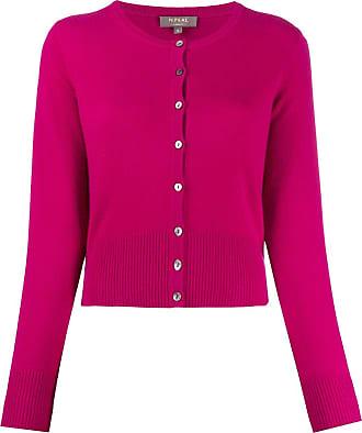 N.Peal Cardigan de cashmere com abotoamento - Rosa