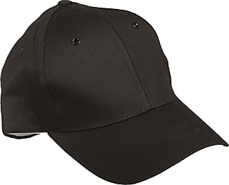 Mil-Tec Black 100% Cotton Baseball Cap with Plastic SNAP Back Adjuster