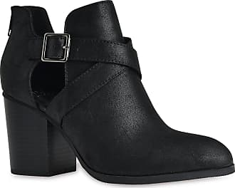 05f2cfcf18cc Soda Womens Buckle Cut Out Criss Cross Wooden Chunky Stacked High Heel Zip  up Ankle Booties