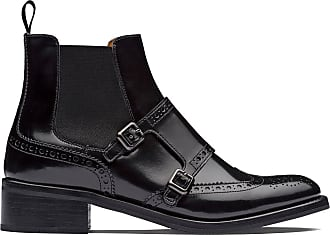 Churchs Stella brogue Chelsea boots - Black