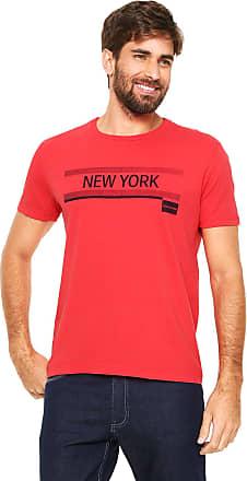 Calvin Klein Jeans Camiseta Calvin Klein Jeans Estampada Vermelha