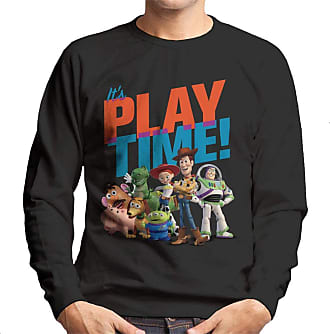Disney Classic Pixar Toy Story Play Time Mens Sweatshirt Black