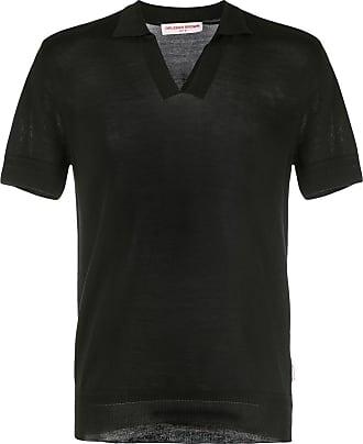 Orlebar Brown Camisa polo Mallory - Preto