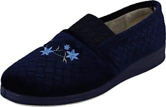 Padders Womens Ann Low-Top Slippers, Blue (Navy 24), 6 (39 EU)