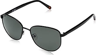 2ea195aebc5 Original Penguin Mens The Wood Sun Polarized Aviator Sunglasses Black 55 mm