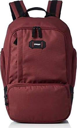 Oakley Mens Street Organizing Backpack, iron red, One Size Fits All