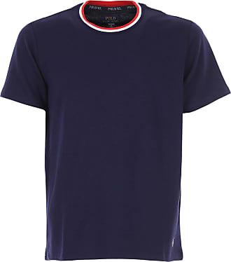 Ralph Lauren T-Shirt Uomo On Sale, Blue Navy, Cotone, 2019, L M S XL XXL