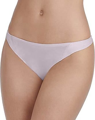 Vanity Fair Womens Underwear Nearly Invisible Panty, Earthy Grey - Thong, Large/7