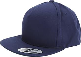 Yupoong Flexfit Unisex Plain Classic 5 Panel Snapback Cap (One Size) (Navy)