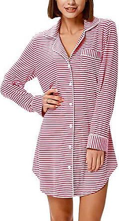 261 213 96 225 Damen Nachthemd in Kuschel Interlock Qualität