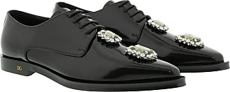 Dolce & Gabbana Loafers & Slippers - Fume Derbie Black - black - Loafers & Slippers for ladies