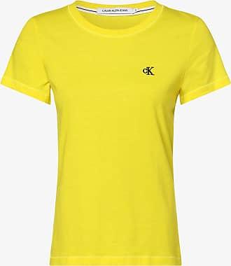 Calvin Klein Jeans Damen T-Shirt gelb