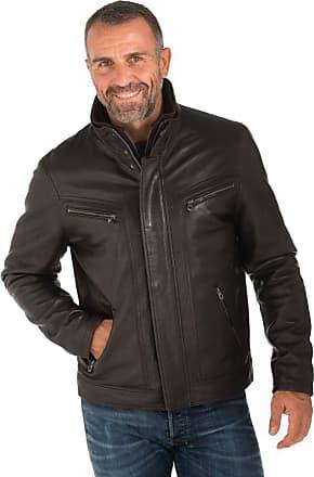 Veste Homme Daytona TYLER SHEEP POLO BLACK Cuir