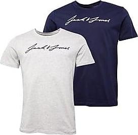 Jack & Jones two pack short sleeve jersey t-shirts