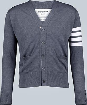 Thom Browne Cardigan 4-Bar in lana merino